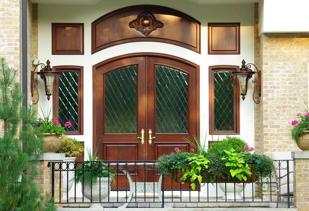 Mahogany Wood Exterior Doors