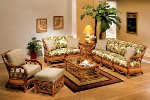 Rattan Living Room Setting