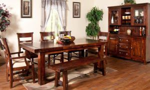 Rustic Kitchen Table Set