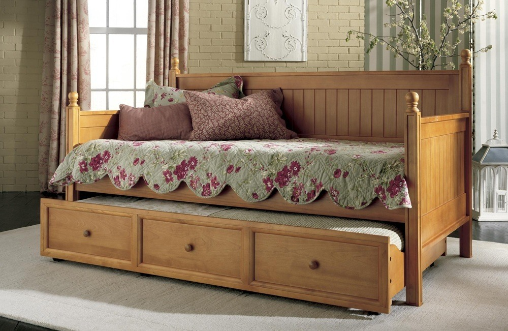 Wooden Framed Sofa Bed