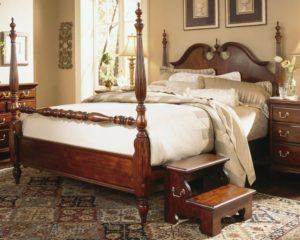 American Cherry King Bed