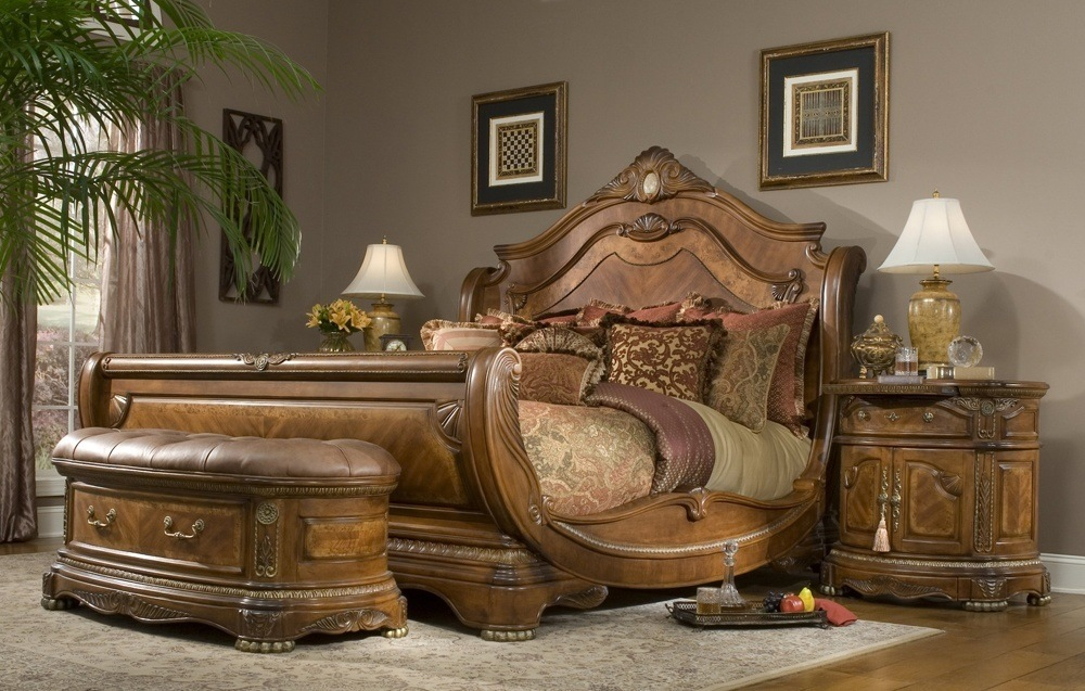 American King Size Bed