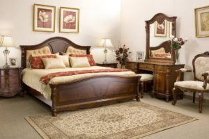 Bedroom Wood Furniture Set with Couch
