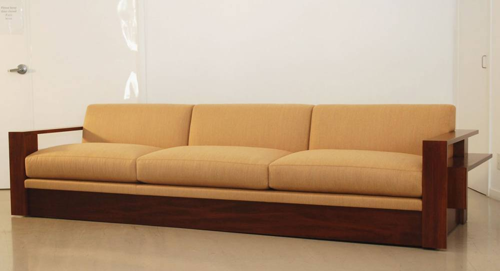 Big Wood Frame Sofa