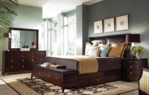 Dark Bedroom Wood Furniture