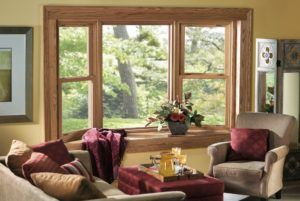 Luxury Wood Garden Window