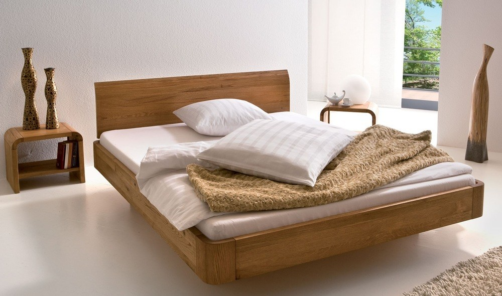 Natural Wooden Beds