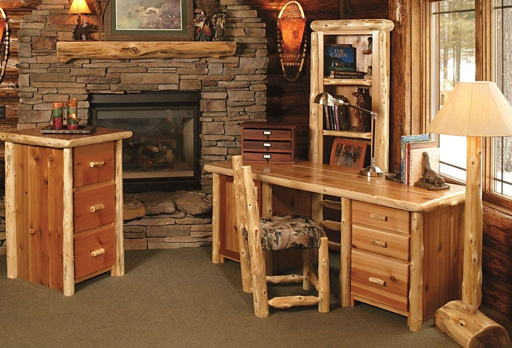 Modern Rustic Office Furniture