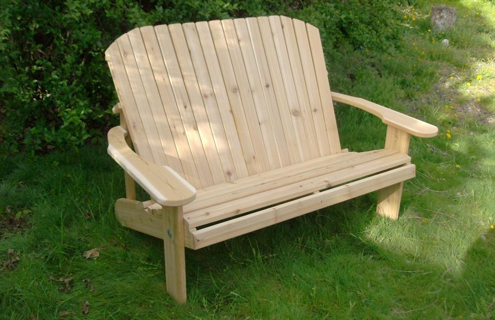 Western Red Cedar Bench