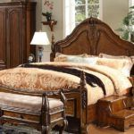 Choose Decorating Fabric for Wooden Modern Bed in Your House