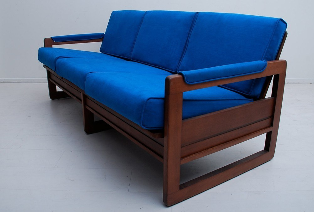 Wooden Simple Sofa