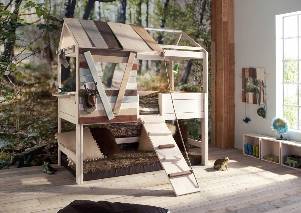 Tree House Twin Loft Bed