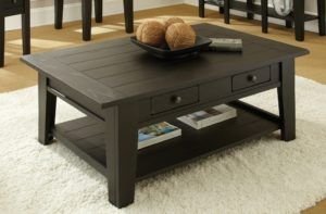 Antique Black Coffee Table