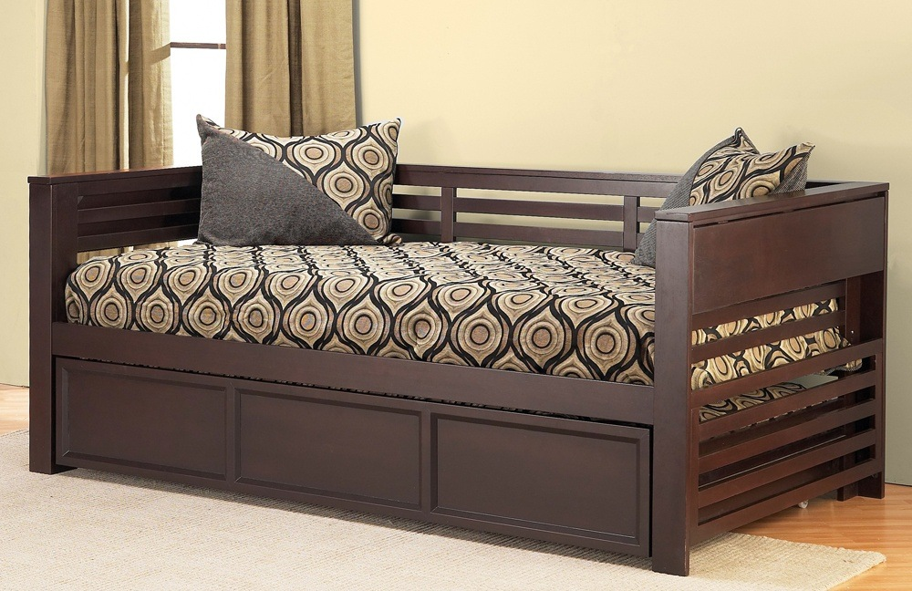 Astounding Wooden Trundle Bed