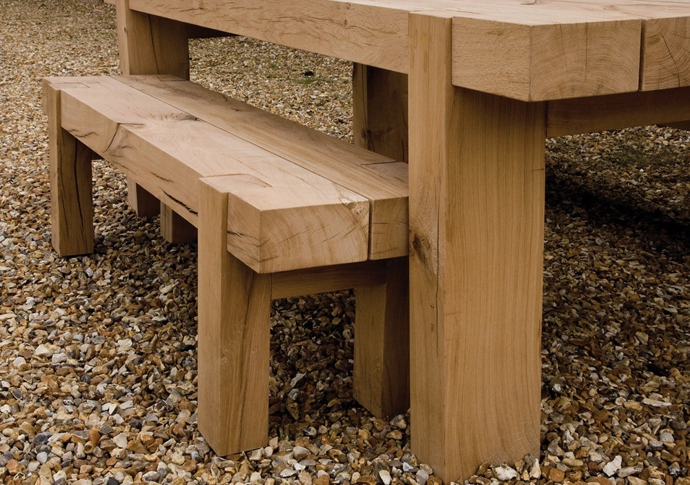 Oak Outdoor Table