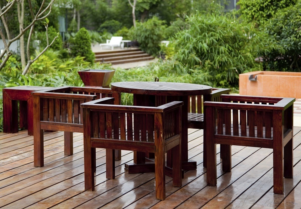 Cherry Wood Outdoor Furniture