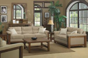 Classic Living Room Sofa Set