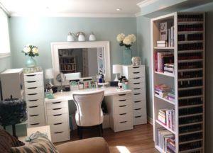 Custom Bedroom Vanity Dresser