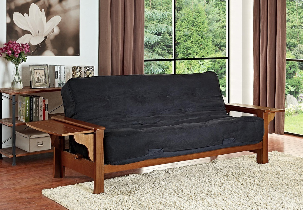 Custom futon couch is sold in all sizes and uses.