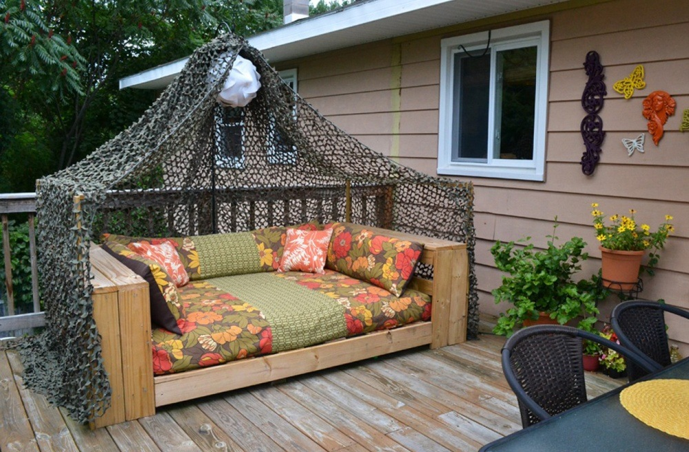 Outdoor futon couch is sold in all sizes and uses.