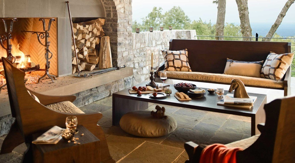 Dark Wood Outdoor Furniture