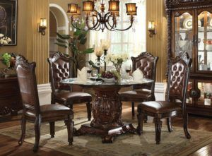 Luxury Country Dining Table Set