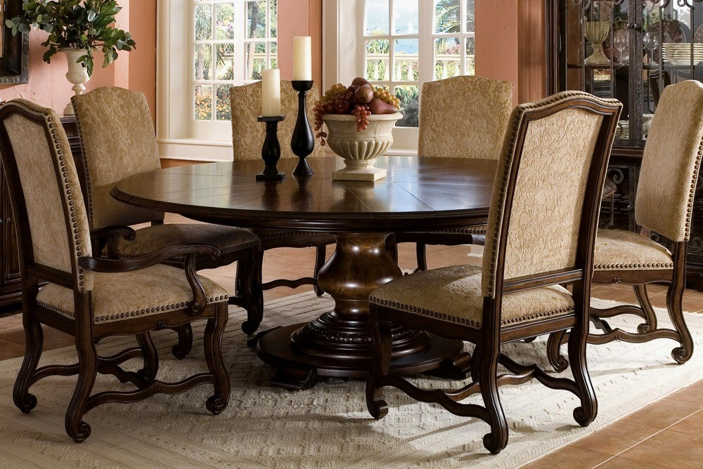 Luxury Dining Chairs With Round Dining Table