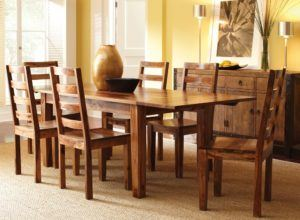 Solid Wood Dining Chair Set