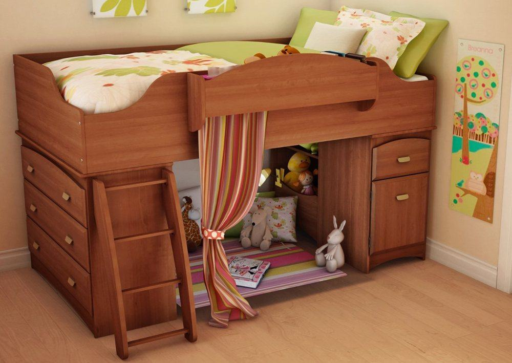 Solid Oak Bunk Bed