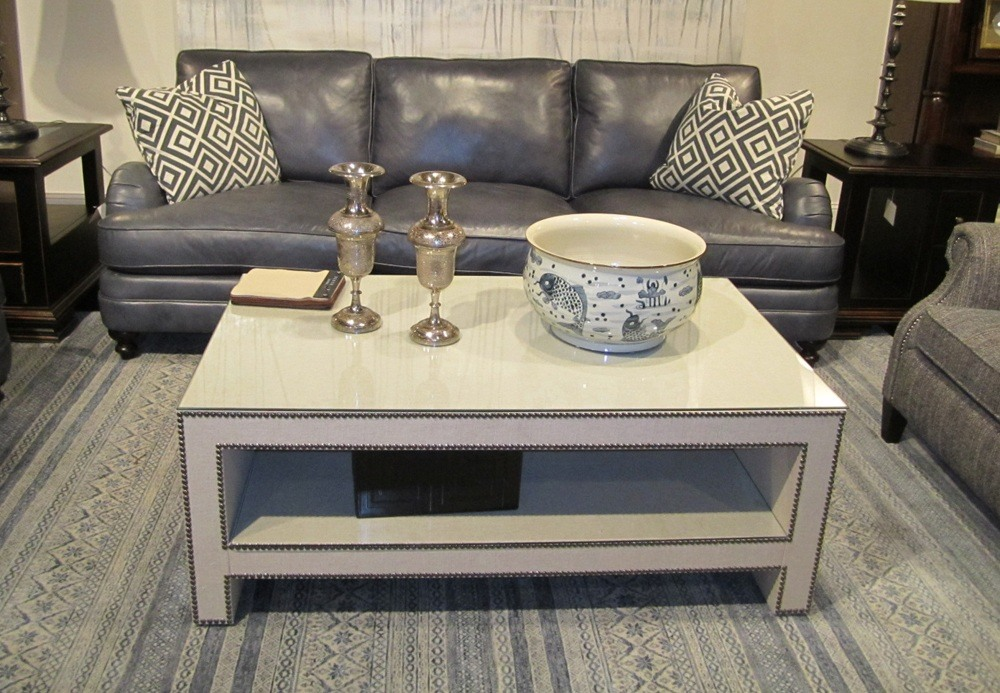 Large White Square Coffee Table December 2020