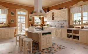 Wonderful Deluxe Wood Kitchen