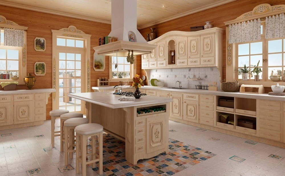 Deluxe Wooden Kitchen