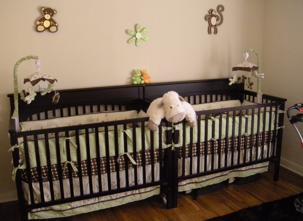 Large Crib For Twins