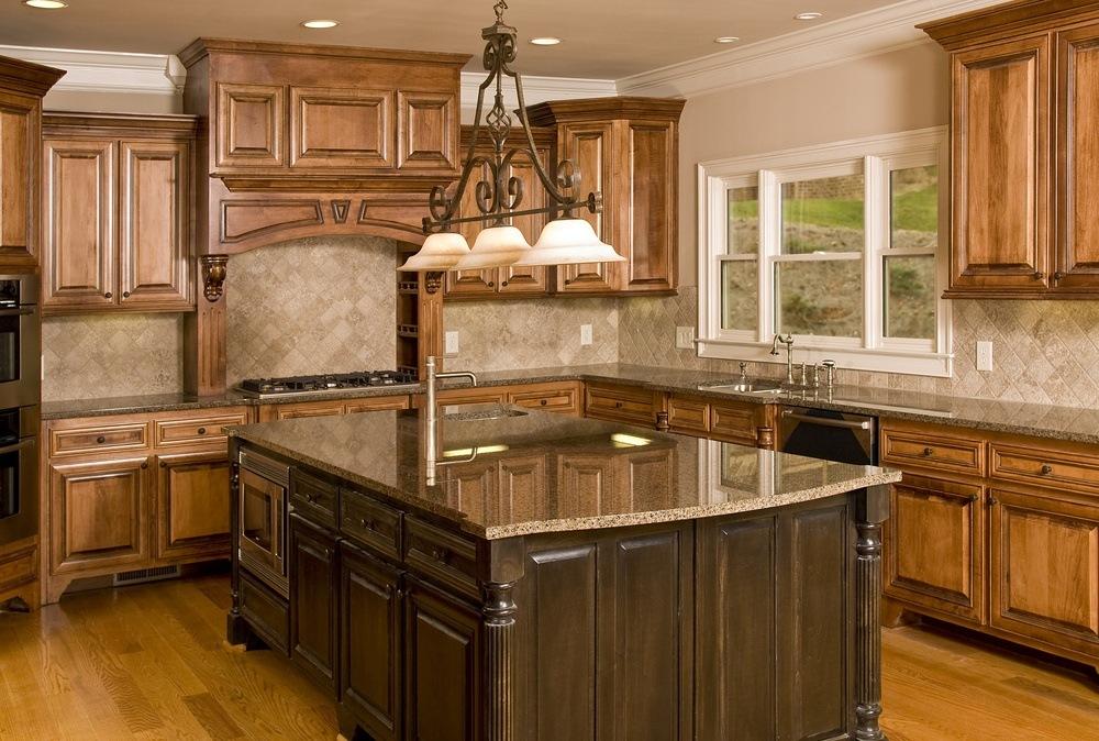 Dark Wood Kitchen Countertops