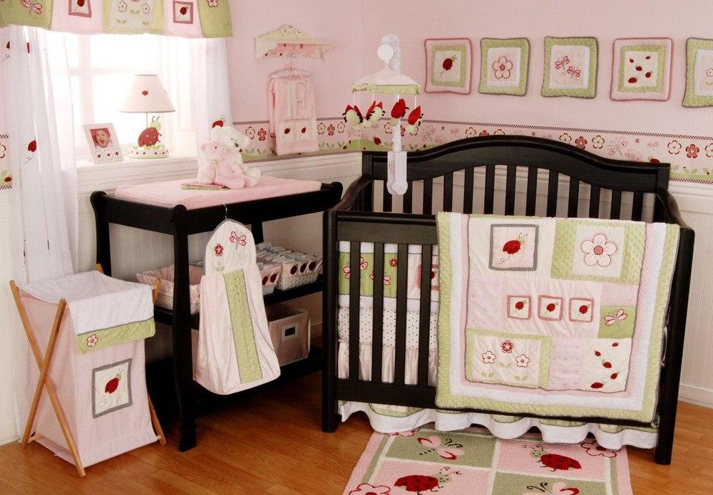 Baby Girl Nursery Designs