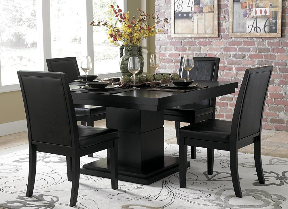 Black Dining Room Set