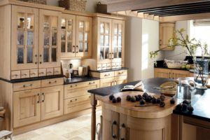 Classic Country Wood Kitchen