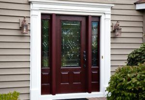 Custom Wood Front Door