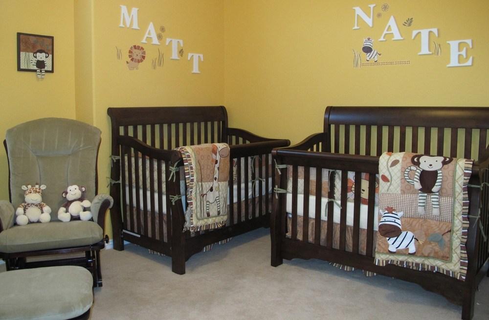 Dark Brown Wooden Mini Cribs