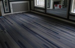 Dark Gray Hardwood Floor