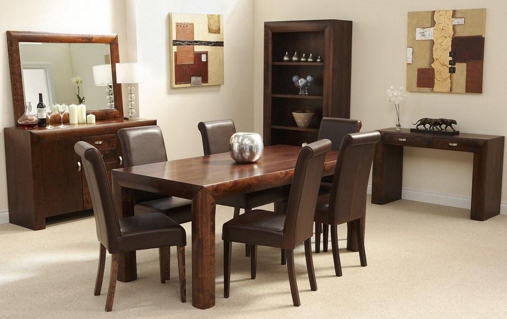 Dark Brown Walnut Furniture