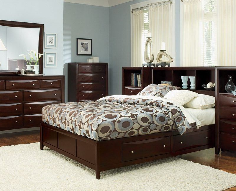 Elegent Bedroom Furniture With Teak Wood
