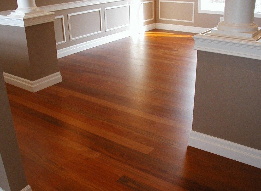 Walnut Color Hardwood Floors
