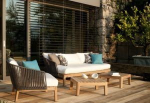 Garden Outdoor Oak Furniture