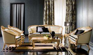 Luxury Living Room Sofa Set