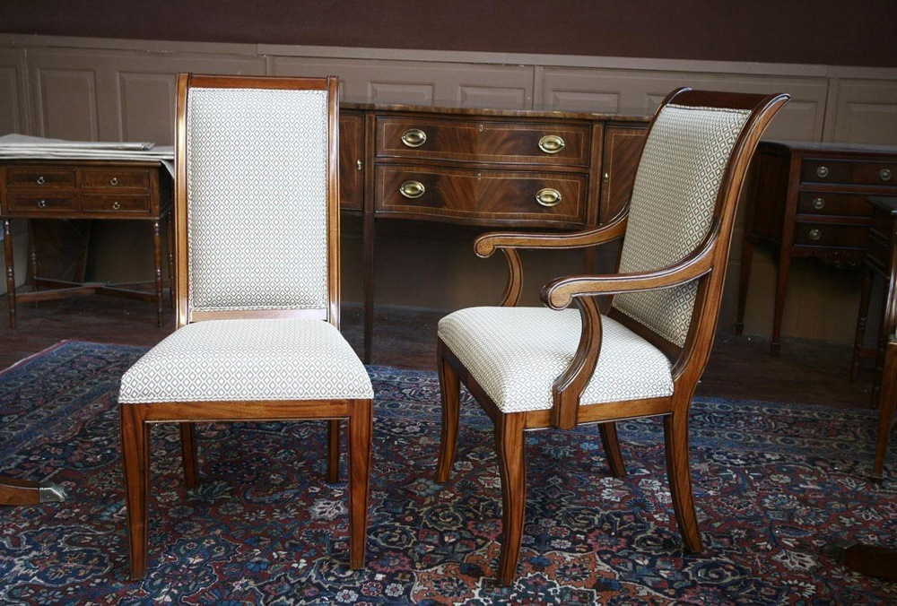 Sweet Mustard Dining Room Chairs