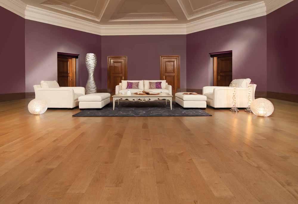 Hardwood Floor Living Room Design