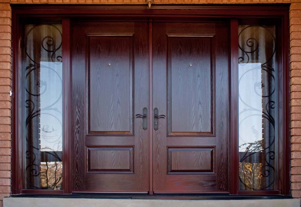 Entry unique wood doors for homes make a value of it.