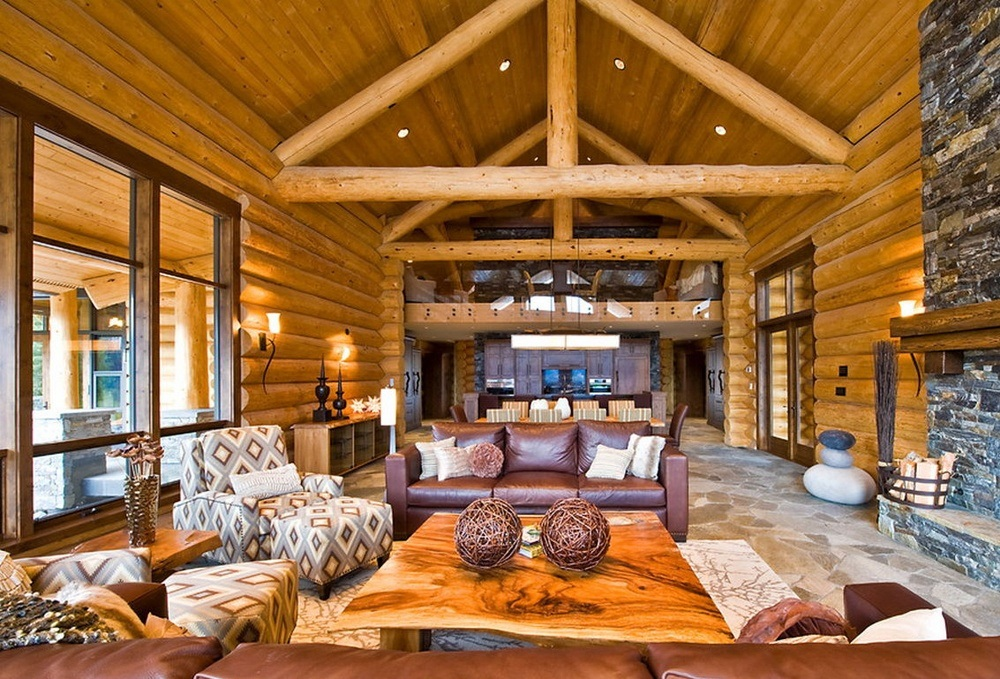 Log Living Room Furniture