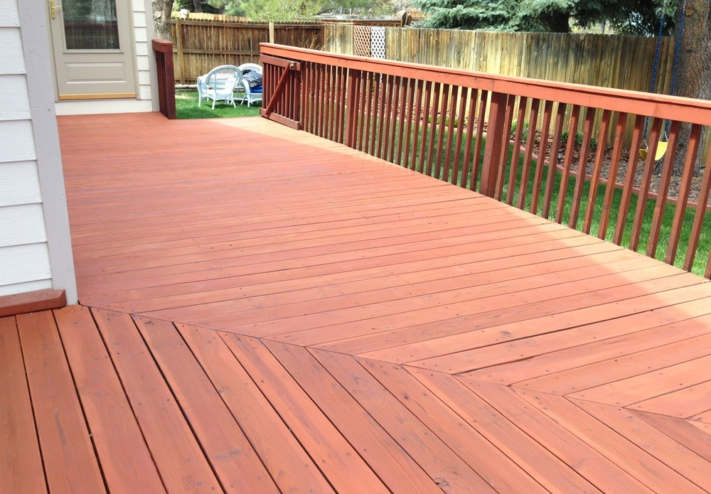 Higher concentrations of used colorant make deeper cabot deck stain colors.